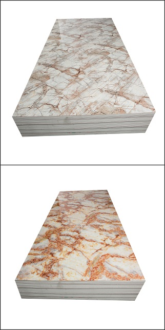 Hot sale spc wall panel fireproof pvc marble sheet high glossy 4x8 pvc flexible plastic sheet (图3)